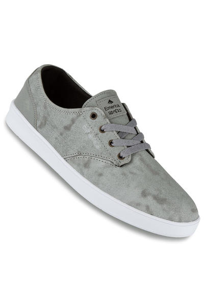 Emerica The Romero Laced Suede Shoe (grey black white)