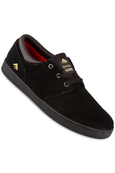 Emerica The Figueroa Suede Schuh (black black)