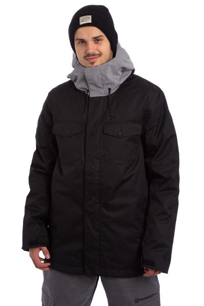 Oakley Division 2 Biozone Insulated Snowboard Jacket (jet black)