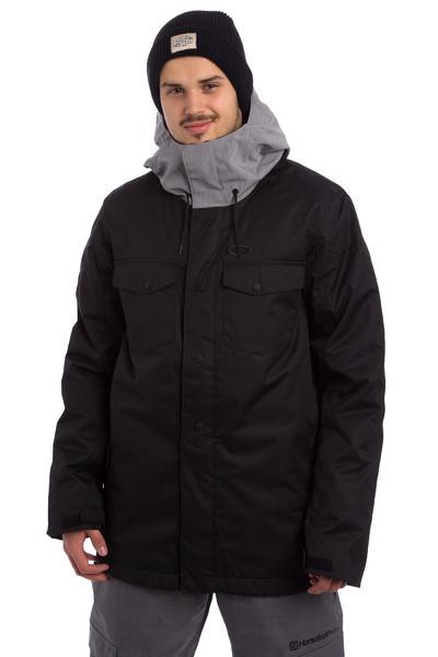 Oakley Division 2 Biozone Insulated Snowboard Jacke (jet black)