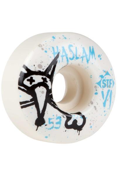 Bones STF Haslam Team Vato 53mm Rollen (white) 4er Pack