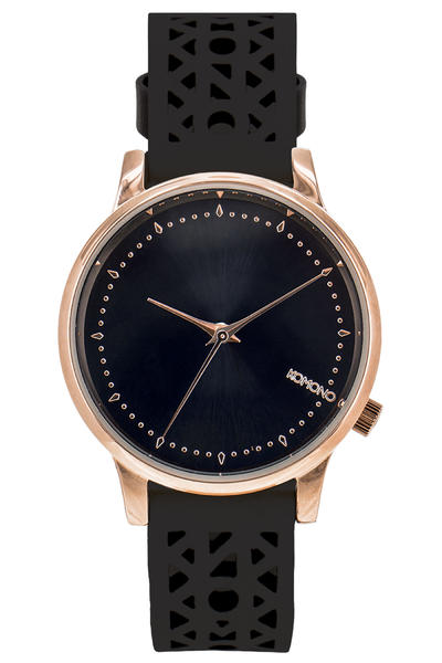 Komono Estelle Cutout Uhr women (black rose)