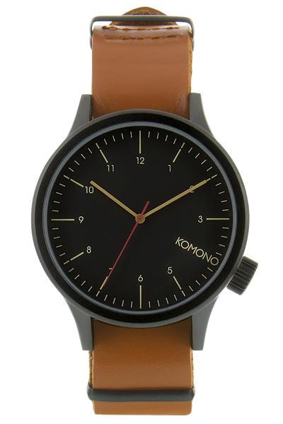 Komono Magnus Uhr (black cognac)