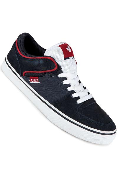 DVS Torey Low Suede Shoe (navy white)