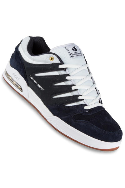 DVS Tycho Suede Shoe (navy white gum)