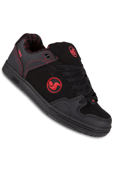 DVS Discord Shoe (black red)
