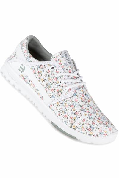 Etnies Scout Shoe women (white light grey)