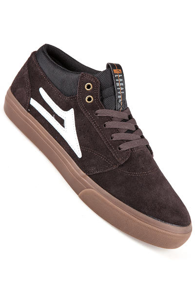 Lakai Griffin Mid Suede Shoe (brown gum)