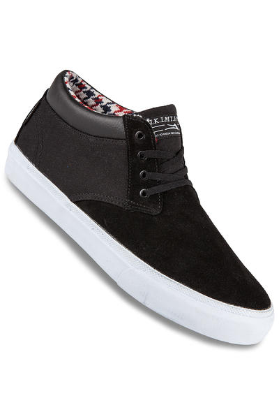 Lakai MJ Mid Suede Shoe (black)