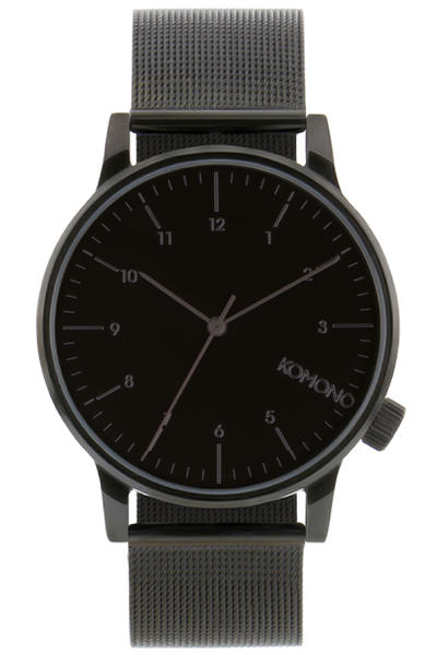 Komono Winston Royale Montre (black)
