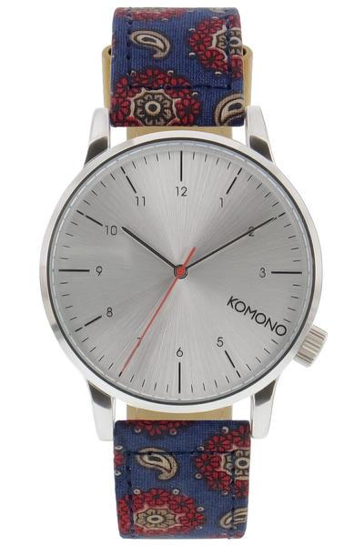 Komono Winston Print Watch (paisley foulard)