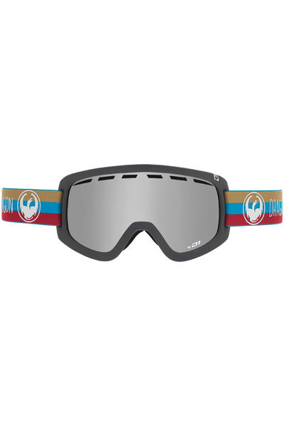 Dragon D1 Layer Goggle (mirror ionized) inkl. Bonusglas