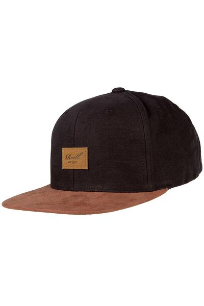 REELL Suede 6 Panel Cap (black)