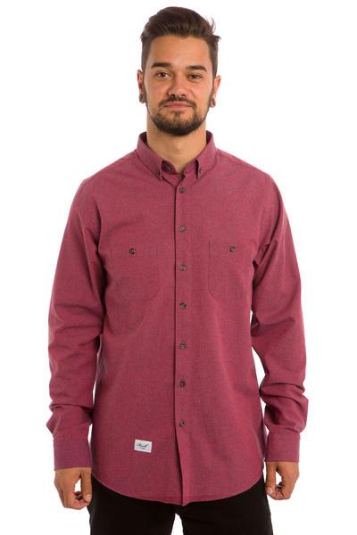 REELL Nordic Hemd (burgundy)