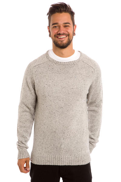 REELL Knitted Speckle Sweatshirt (grey)