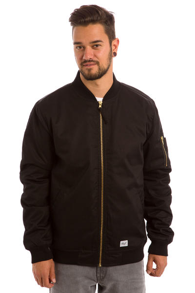 REELL Padded Flight Jacket (black)