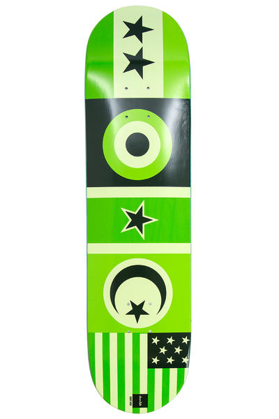 "Chocolate Hsu Flags 8"" Deck"