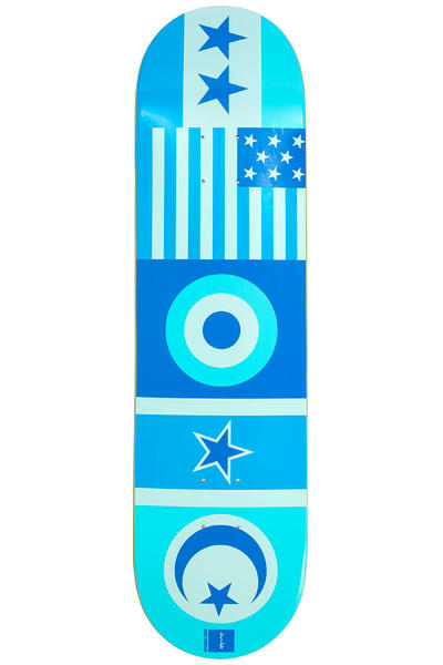 "Chocolate Johnson Flags 8.125"" Deck"