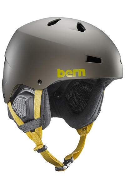 Bern Macon Thin Shell BOA® Snow-Helm (matte charcoal)