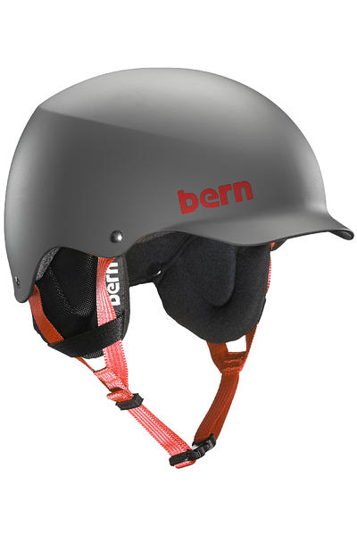 Bern Team Baker Thin Shell Snow-Helmet (matte grey)