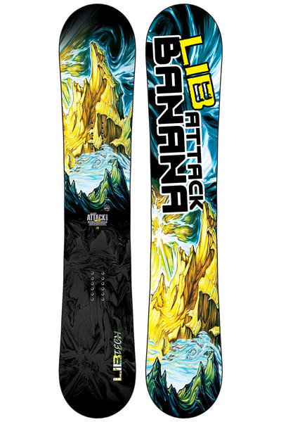 Lib Tech Attack Banana EC2 BTX 156cm Snowboard 2015/16