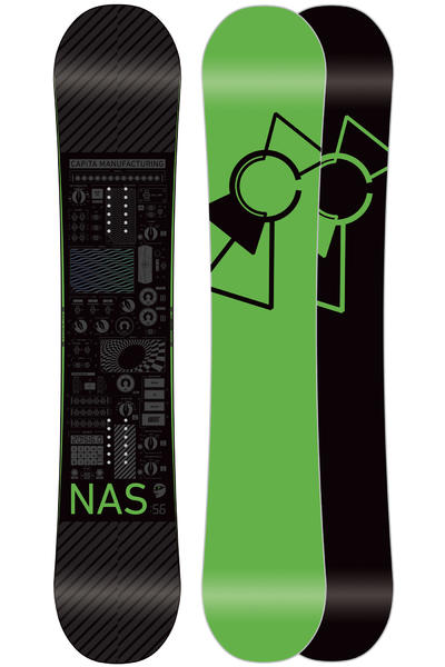 Capita NAS 156cm Snowboard 2015/16 (black green)