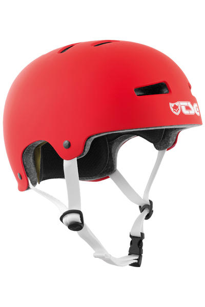 TSG Evolution-Solid-Colors Casco (satin fire red)