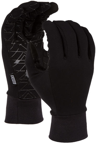 POW Poly Pro TT Liner Gloves (black)