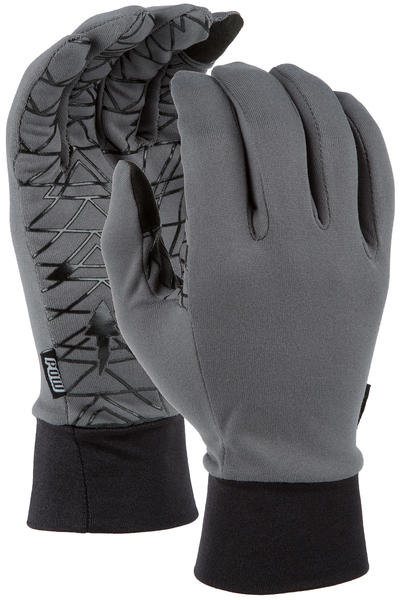POW Poly Pro TT Liner Gloves (grey)