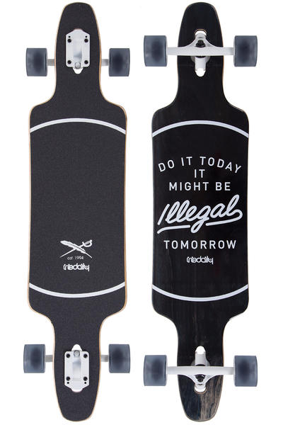 "Iriedaily Illegal 40"" (101,5cm) Komplett-Longboard (black)"