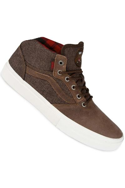 Vans Crockett Pro Mid Shoe (brown)