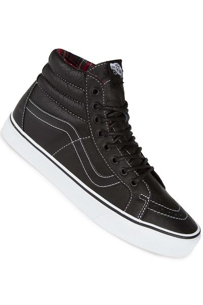 Vans Sk8-Hi Reissue Leather Schuh (black plaid)