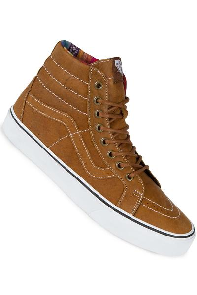 Vans Sk8-Hi Leather Shoe (brown guate)