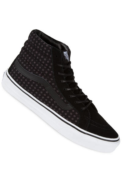 Vans Sk8-Hi Slim Shoe women (wool dots black true white)