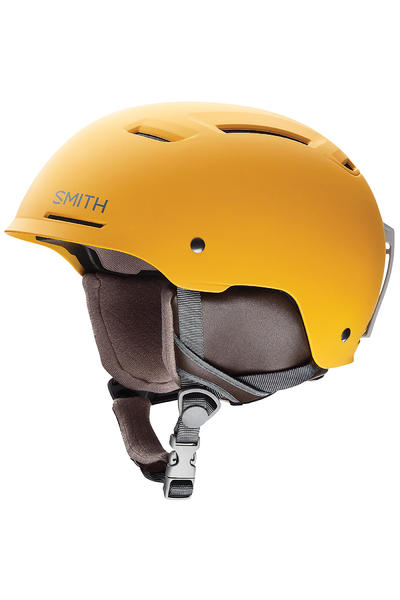 Smith Pivot Snow-Helm (matte mustard conditions)