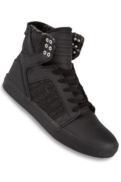 Supra Skytop Schuh (black black black)