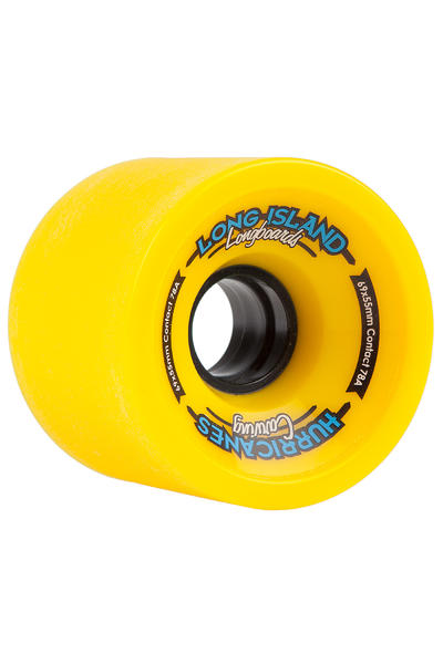 Long Island Hurricanes Carving 69mm 78A Wheel (yellow) 4 Pack