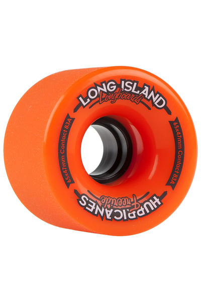 Long Island Hurricanes Small Freeride 65mm 83A Wheel (orange) 4 Pack
