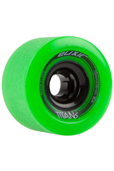 Long Island Elixir Series - Titans 70mm 80A Rollen (green) 4er Pack