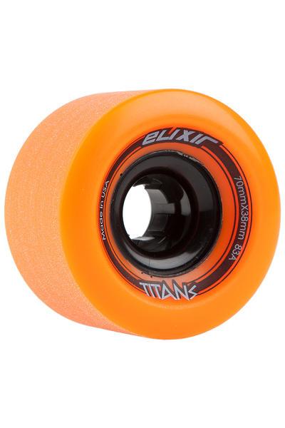 Long Island Elixir Series - Titans 70mm 83A Rollen (orange) 4er Pack