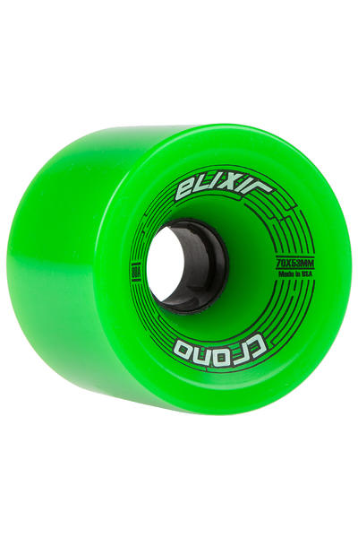 Long Island Elixir Series - Chrono 70mm 80A Wheel (green) 4 Pack