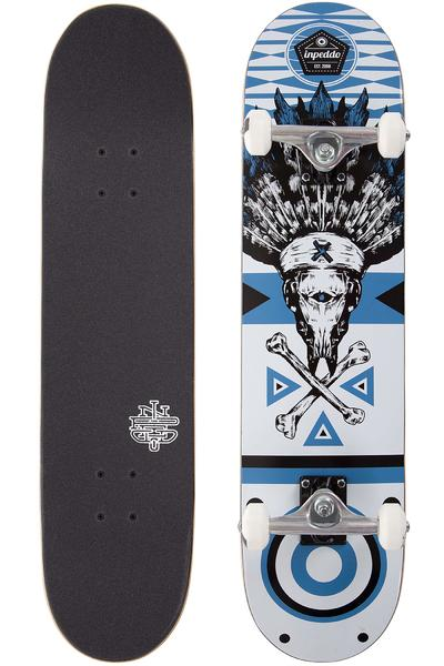 "Inpeddo Chief 7.75"" Komplettboard (white blue)"