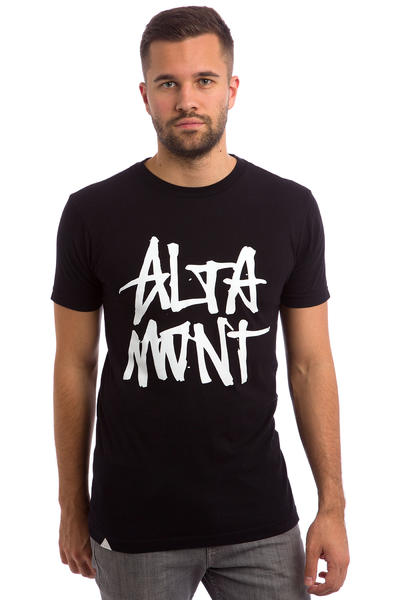 Altamont Stacked T-Shirt (black)