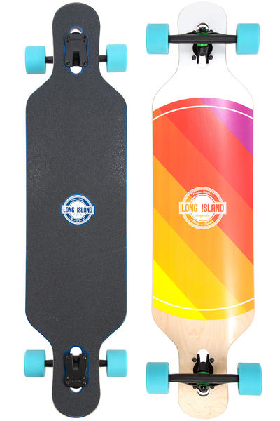 "Long Island World 40.86"" (103,8cm) Komplett-Longboard"