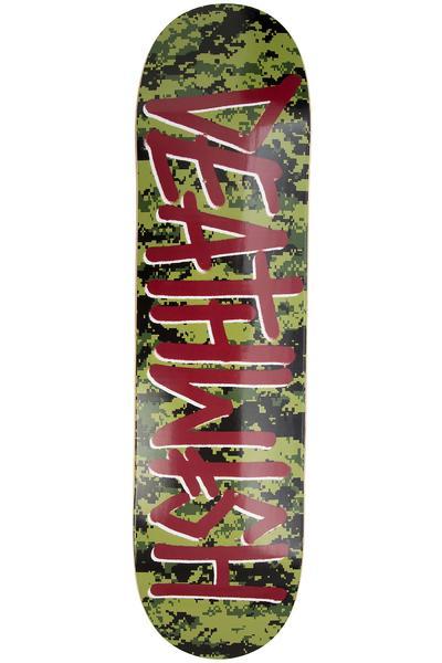 "Deathwish Deathspray Digi Camo 8"" Deck (green)"