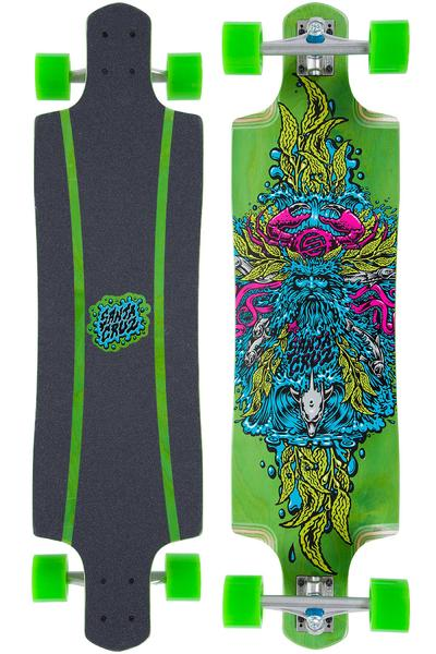 "Santa Cruz Sea God Green Cruz Control 37.97"" (96,5cm) Komplett-Longboard (green)"