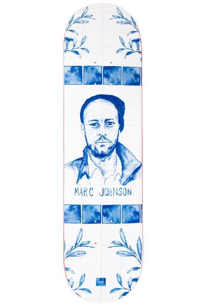 "Chocolate Johnson Talavera 8.125"" Deck (white blue)"