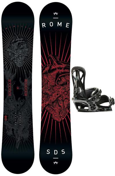 Rome Garage Rocker 154cm / United L Set de Snowboard 2015/16