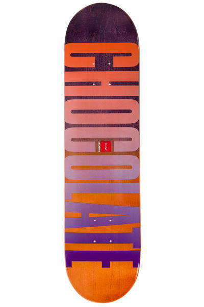 "Chocolate Eldridge League Fade 7.875"" Deck"
