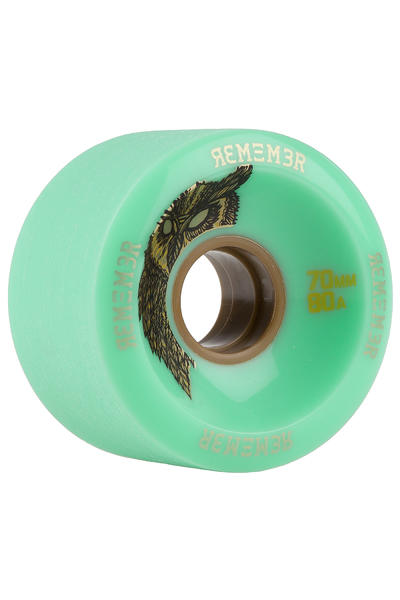 Remember Hoot Slide 70mm 80A Wheel (seafoam green) 4 Pack